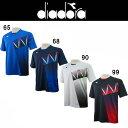 サッカーシャツ ディアドラ diadora プラクティスシャツ dfp8505