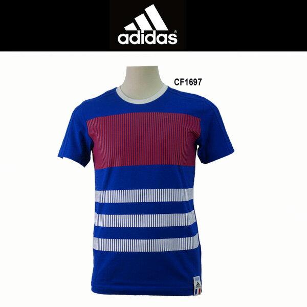 サッカーシャツ アディダス adidas フランス代表 Tシャツ eeg13 cf1697