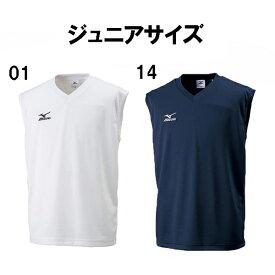 ジュニアサッカー インナー ミズノ mizuno ジュニア ノースリーブシャツ 32ja6428