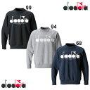 50%OFF ディアドラ diadora スウェット クルーネックシャツ dgc9116