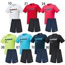 サッカープラクティスシャツ メンズ ヒュンメル hummel プラクティスシャツ ハーフパンツセット hap4129 hap2065