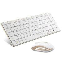 UNIQユニークrapoo9160超薄5.6mm&超軽量310g!ウルトラスリムデザインキーボードとマウスコンボ☆