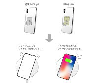 【日本正規代理店】iRingアイリングスマホ落下防止セーフティグリップ&ポータブルスタンドワイヤレス充電