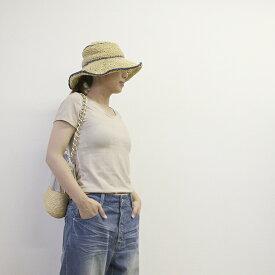 【スプレ−染め 半袖 Tシャツ】 G'nals ビンテージ風 トップス インナーに最適! 大人可愛い Tシャツ カジュアル 感が 女っぽさを引き出す S M L 3色! G'nals トップス Fashion tops All item レディース ユニークポケット【ファッション】 アパレル【プレゼント】