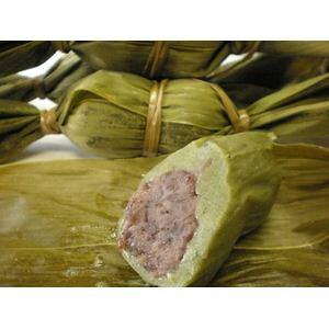 新潟名物伝統の味!笹団子 つぶあん10個 + こしあん10個 計20個セット