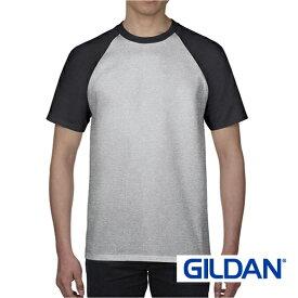 GILDAN (ギルダン)76500 5.3オンス プレミアムコットン ラグランTシャツ