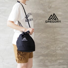 GREGORY グレゴリー ランチバッグ CINCH BAG M 130296-130847 バッグ ポーチ レディース 巾着 巾着バッグ 65380 65388 ショルダーポーチ トートバッグ 斜め掛け おしゃれ アウトドア サブバッグ 黒 メンズ