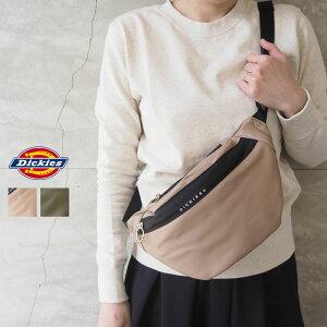 Dickies ディッキーズ ウエストバッグ レディース SYNTHETIC LETHER WAIST BAG 14504700 ボディバッグ バッグ 鞄 カバン 斜めかけ ウエストポーチ シンプル カジュアル 上品 おしゃれ 合成皮革 革 レザー