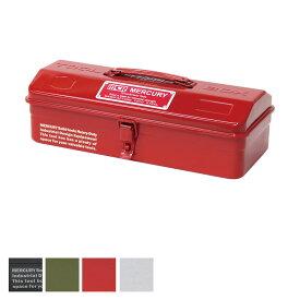 Mercury マーキュリー 雑貨 MJ ツールボックス MEMJTB 工具箱 ツールケース 収納ボックス ボックス インテリア おしゃれ かわいい スチール 雑貨 DIY 世田谷ベース アメリカン雑貨 アメリカ アメリカン 西海岸 ツール グッズ 黒 ブラック シルバー カーキ レッド