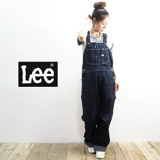 cf0d12fc6dc Lee Lee overall LM7254-100 salopette Lady's all-in-one filler denim AMERICAN