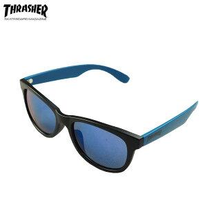 THRASHER スラッシャー SUNGLASS CLARUS サングラス フラルス CLARUS-1018 レディース グラサン UVカット 紫外線カット ブランド スモーク カラーレンズ カラー スケーター アウトドア 黒 ブラック マッ