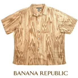 BananaRepubricシャツバナナリパブリック半袖シャツ開襟シャツアウトレット品大きいサイズXLビッグサイズ02P05Apr18【送料無料】【送料込み】