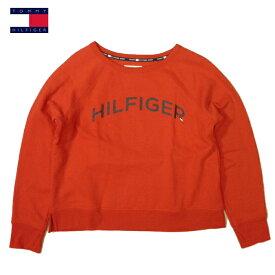 トミーヒルフィガー スポーツトレーナートリコロールカラープリントTOMMY HILFIGER SPORTスウェットシャツ アウトレット品レッドレディース 大きいサイズ XLサイズあり02P03Feb19