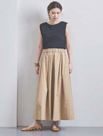 [Rakuten Fashion]<STYLEforLIVING>タックロングスカート UNITED ARROWS ユナイテッドアローズ スカート フレアスカート ベージュ ブラック レッド【送料無料】