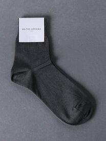 [Rakuten Fashion]UBSCアンクルリブソックス UNITED ARROWS ユナイテッドアローズ ファッショングッズ ソックス/靴下 グレー ホワイト ブラック ベージュ