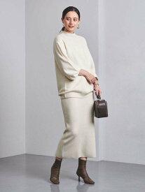 [Rakuten Fashion]【SALE/40%OFF】UBCB W/CA/N/PU リブニット タイトスカート† UNITED ARROWS ユナイテッドアローズ スカート ロングスカート ホワイト ブラウン パープル【RBA_E】【送料無料】