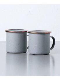 [Rakuten Fashion]<BarebonesLiving(ベアボーンズリビング)>エナメルマグカップ2P UNITED ARROWS ユナイテッドアローズ 生活雑貨 キッチン/ダイニング グレー