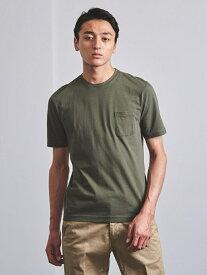 [Rakuten Fashion]<tsuki.s(ツキドットエス)>テンジククルーネックTEE UNITED ARROWS ユナイテッドアローズ カットソー Tシャツ カーキ パープル【送料無料】