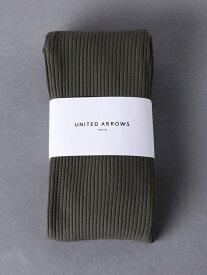 [Rakuten Fashion]UWSCリブサイドスリットレギンス UNITED ARROWS ユナイテッドアローズ ファッショングッズ タイツ/レギンス グレー ブラック