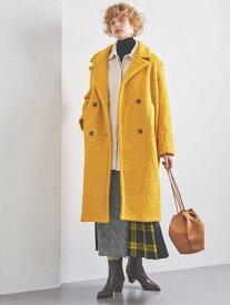 [Rakuten Fashion]<STYLEforLIVING>ループロングコート UNITED ARROWS ユナイテッドアローズ コート/ジャケット コート/ジャケットその他 イエロー ブラック ブラウン【送料無料】