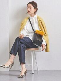 [Rakuten Fashion]UBCBVネックショートカーディガン UNITED ARROWS ユナイテッドアローズ ニット カーディガン イエロー ホワイト ブラック ベージュ【送料無料】