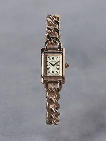 UBCB スクエア メタル チェーン 腕時計† UNITED ARROWS ユナイテッドアローズ ファッショングッズ 腕時計 ゴールド シルバー【送料無料】[Rakuten Fashion]