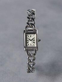 [Rakuten Fashion]【予約】UBCB スクエア メタル チェーン 腕時計† UNITED ARROWS ユナイテッドアローズ ファッショングッズ 腕時計 シルバー ゴールド【送料無料】