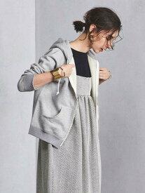 [Rakuten Fashion]UWSC コットン パーカー UNITED ARROWS ユナイテッドアローズ カットソー パーカー グレー ホワイト【送料無料】
