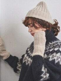 [Rakuten Fashion]UWCSMHRリブキャップ UNITED ARROWS ユナイテッドアローズ 帽子/ヘア小物 ニット帽/ビーニー ベージュ グレー カーキ【送料無料】