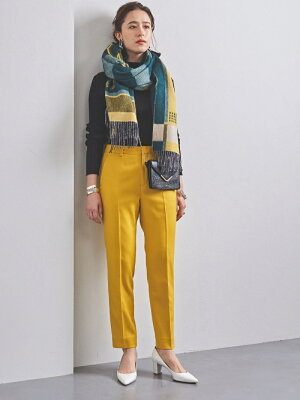 [Rakuten Fashion]UBCBサキソニースリムパンツ19AW UNITED ARROWS ユナイテッドアローズ パンツ/ジーンズ フルレングス イエロー ホワイト ブラック グレー ブラウン【送料無料】