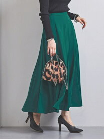 [Rakuten Fashion]UWSCPセミフレアロングスカート UNITED ARROWS ユナイテッドアローズ スカート ロングスカート グリーン ブラック イエロー【送料無料】