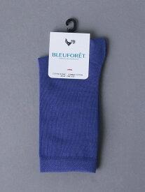 <BLEU FORET(ブルーフォレ)>SLD CLR CTN ソックス UNITED ARROWS ユナイテッドアローズ ファッショングッズ ソックス/靴下 ネイビー グレー レッド[Rakuten Fashion]