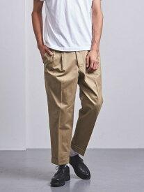 [Rakuten Fashion]<SCYEBASICS(サイベーシックス)>プリーツチノパンツ UNITED ARROWS ユナイテッドアローズ カットソー Tシャツ ベージュ グレー【送料無料】