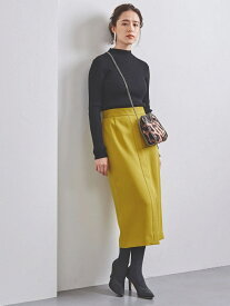 [Rakuten Fashion]【SALE/30%OFF】UBCBツイルフロントベントタイトスカート UNITED ARROWS ユナイテッドアローズ スカート ロングスカート イエロー ホワイト ブラウン【RBA_E】【送料無料】