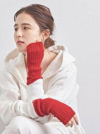 [Rakuten Fashion]<JOHNSTONS(ジョンストンズ)>フィンガーレスグローブ UNITED ARROWS ユナイテッドアローズ ファッショングッズ 手袋 レッド ブラック グレー【送料無料】