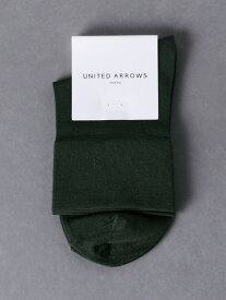[Rakuten Fashion]UBSCBRIGHTLOWソックス UNITED ARROWS ユナイテッドアローズ ファッショングッズ ソックス/靴下 グリーン ホワイト ブラック ブラウン
