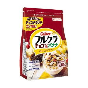 カルビー フルグラ チョコクランチ&バナナ 600g 6袋