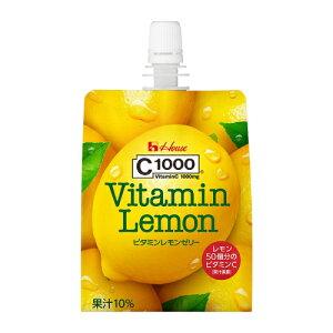 ハウスウェルネスC1000 ビタミンレモンゼリー 180g 24本セット