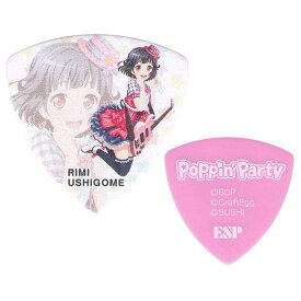 【10枚セット】ESP×バンドリ! BanG Dream! ガールズバンドパーティ! GBP Rimi Poppin Party 3 牛込りみ ギター ピック 第3弾