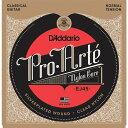 D'Addario クラシックギター弦 プロアルテ Silver/Clear Normal EJ45 【国内正規品】