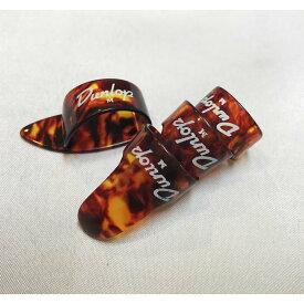 Jim Dunlop ミディアム Thumb Pick(9022R) サムピック×1枚 Finger Pick(9010R) フィンガーピック×3枚計4枚セット【送料無料】
