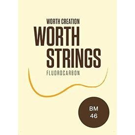 【Worth】ワース弦 BM ブラウン フロロカーボン ウクレレ弦 セット【送料無料】