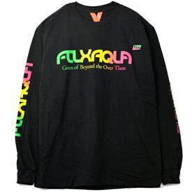 【FLATLUX】(フラットラックス)AQUA STYLE LS TEE(BLACK)