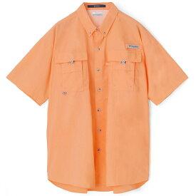 【Columbia/コロンビア】BAHAMA II S/S SHIRT(BRIGHT NECTAR)バハマシャツ PFG 90's インポート Performance Fishing Gear フィッシング ビッグサイズ BIG SIZE 大きいサイズ B系 ストリート ファッション