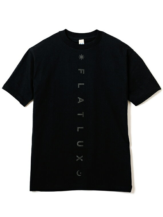 【FLATLUX】(フラットラックス)DISSENT TEE(BLACK)