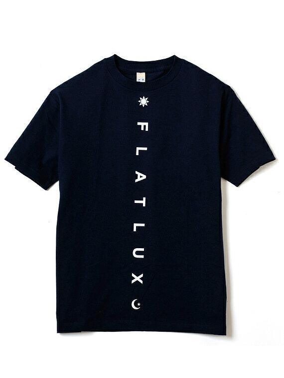 【FLATLUX】(フラットラックス)DISSENT TEE(NAVY)