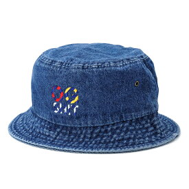 【DL HEADWEAR】(DL ヘッドウェア)NAUTICALOG BUCKET HAT(DARK DENIM)