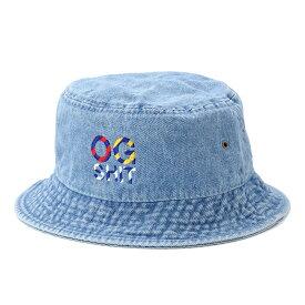 【DL HEADWEAR】(DL ヘッドウェア)NAUTICALOG BUCKET HAT(ICE BLUE DENIM)