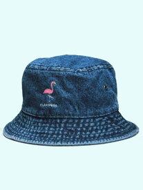 【DL HEADWEAR】(DL ヘッドウェア)NEW FLAMMA BUCKET HAT (DENIM)