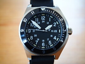 メンズ腕時計 ブランド ミリタリーウォッチカンパニー MWC時計 メンズ腕時計 ナビゲーター クォーツ Ronda715li トリチウム GTLS サファイア ノンロゴ Navigator 高高度対応パイロットウォッチ
